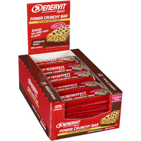 Enervit Sport Power Crunchy Bar Sacoche 25x40g, Choco